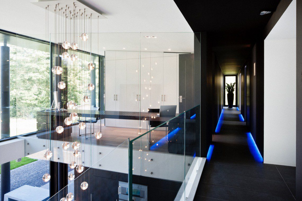 Moderne villa francois hannes for Villa moderne 2016